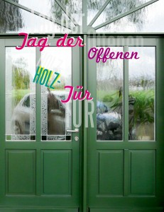 Tag der offenen Tür – Flyer front